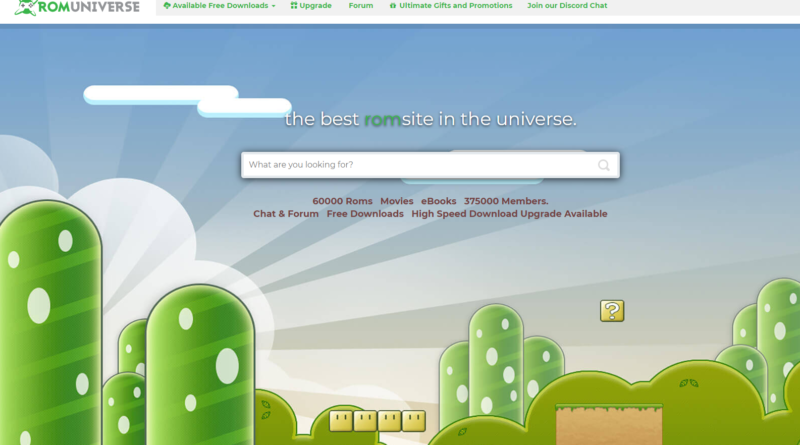 Lawsuit against RomUniverse.com for Game Piracy by Nintendo